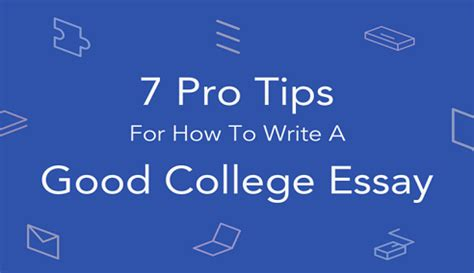 Tips for writing a grad school essay